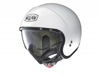 Helmet -NOLAN, N21 Classic- open face helmet, metallic white - XL (61-62cm)