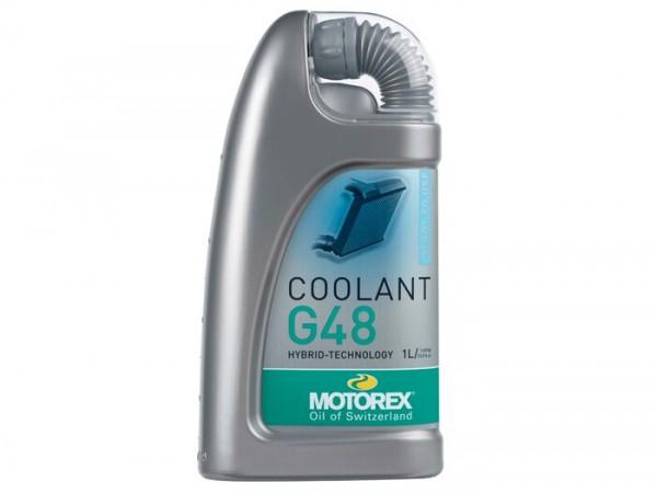 Kühlflüssigkeit -MOTOREX Coolant M5.0- Frostschutz bis -33°C - 1000ml ( türkis )