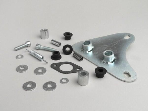 Auspuffhalter -TECNIGAS Next R, Next R Chrom, RS 70 , IXIL GP1, Sport- Aprilia SR2000, DiTech