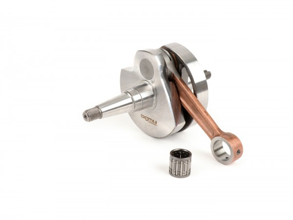 Crankshaft -BGM Pro Touring (rotary valve) 57mm stroke- Vespa PX200