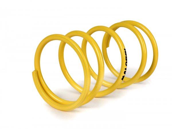 Gegendruckfeder -MALOSSI Ø 67,7x112mm Ø 5,2mm 10,1k gelb- HONDA 300 ccm, KYMCO 200-300 ccm