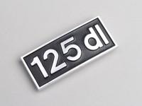 Badge de tablier -LAMBRETTA- 125 DL - DL 125