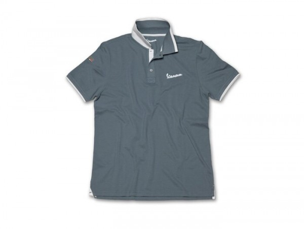 Polo-Shirt Herren -VESPA- grau - 3XL
