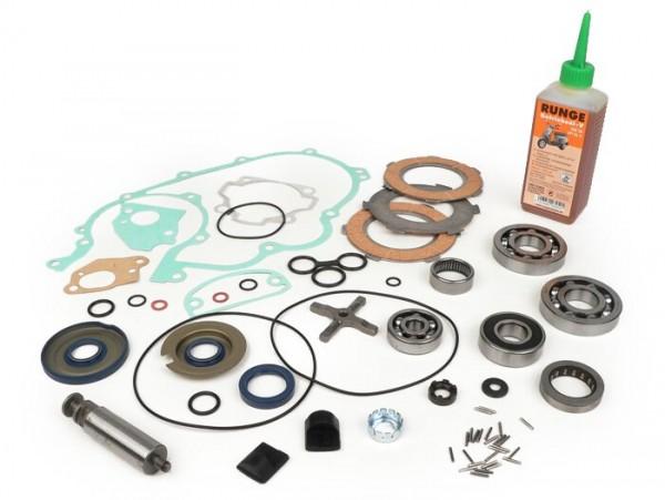 Engine repair kit -PIAGGIO- Vespa 125cc/150cc 3 tranfer ports - Vespa GTR125 (VNL2T), TS125 (VNL3T), Sprint150 Veloce (VLB1T 0150001-)