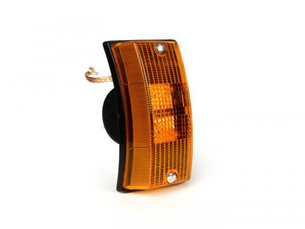 Blinker -SIEM- Vespa PX80, PX125, PX150, PX200, T5 125cc vorne rechts - Orange