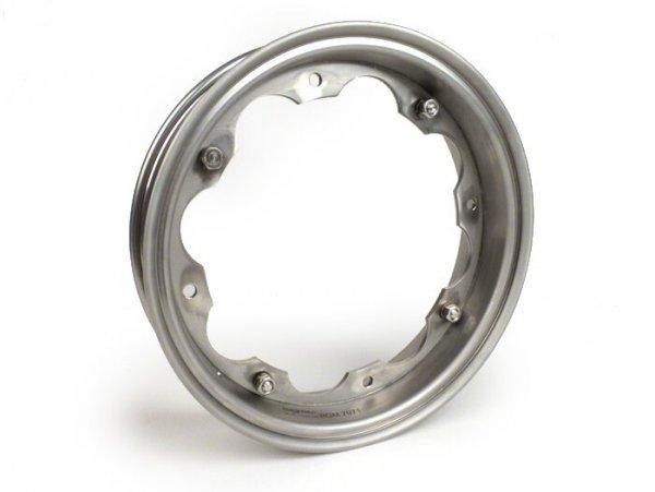 Wheel rim -BGM PRO- Lambretta LI (series 1-3), LI S, SX, TV (series 2-3) - stainless steel
