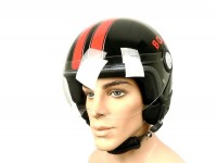 Helmet -BOOST B710 RETRO- black/red -