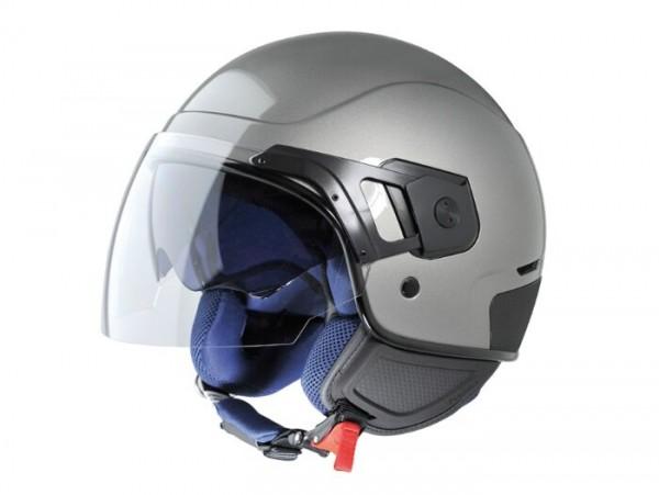 Helm -VESPA PJ- Jethelm, grau - M (57-58cm)