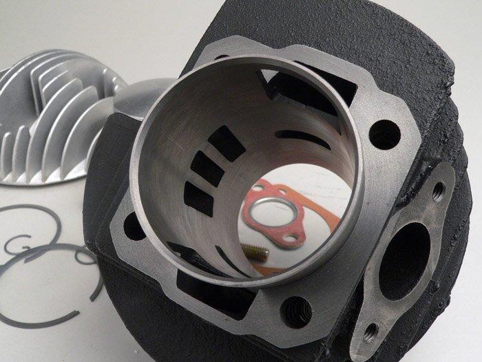 3 Überströmer Zylinder DR 133ccm Vespa PV 125 ET3 Primavera PK 80 125 XL 1 2