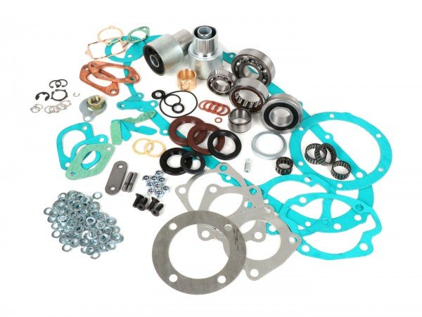 Engine repair kit -LAMBRETTA- Lambretta LI, LIS, SX, TV (series 2-3), DL, GP - oil seals Jockeys Boxenstop