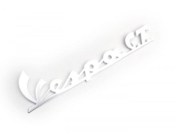 Schriftzug Beinschild -OEM QUALITÄT- Vespa GT - Vespa GT125 (ab Bj. 1966), Vespa GTR125 (ab Bj. 1969)