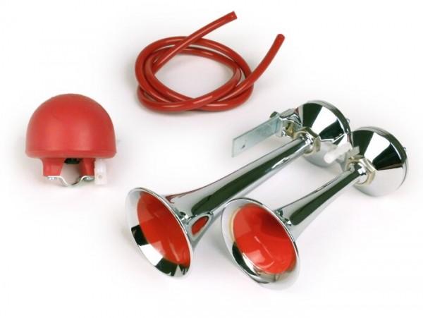 Hupe -POLI Micro Tromba- Lufthörner - Blasebalg