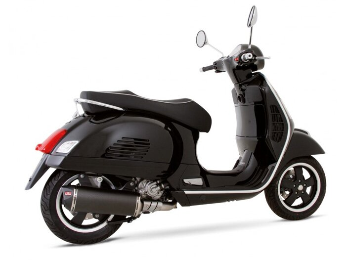 auspuff remus rsc vespa gts 125ie super 2009 vespa. Black Bedroom Furniture Sets. Home Design Ideas