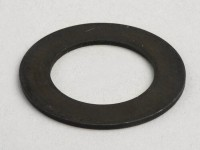 Washer M16 x 26x1 bush auxiliary shaft/engine casing -LAMBRETTA- LI, LIS, SX, TV (series 2-3), DL, GP
