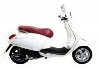 Exhaust -ARROW- Urban Dark Aluminium- Vespa Sprint/Primavera 125-150- with catalytic converter- 2014-2016- Euro 3