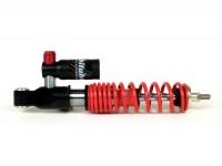 Shock absorber front -BITUBO MEV, 240mm, (2014-2016)- Vespa GTS/GTS Super 125-300, bottom seating: lug - black - red spring