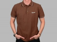 Polo-Shirt Men -VESPA- brown - S