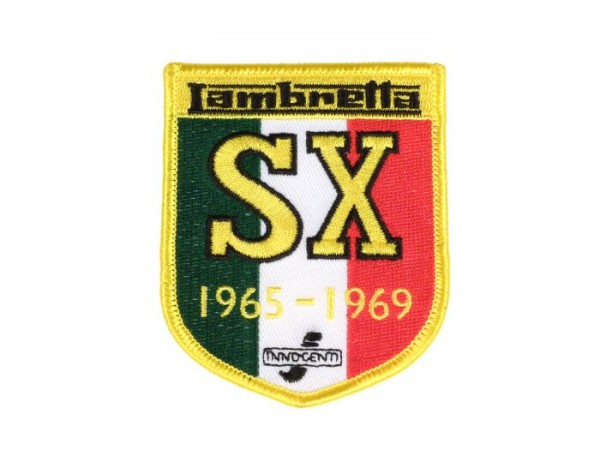 Patch thermocollant -LAMBRETTA SX 1965-69- 65x80mm