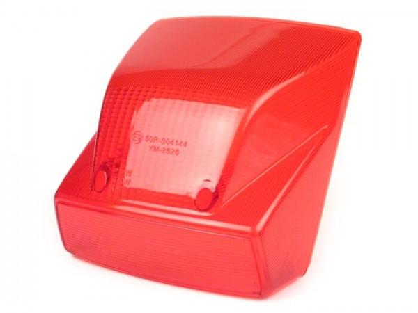 Rücklichtglas -MOTO NOSTRA- Vespa PX Lusso (MY, 2001-) - rot