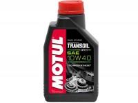 Huile de transmission -MOTUL Transoil Expert- SAE 10/W40, GL4 ESTER - 1000ml - p. ex. pour Vespa GT/GTS 125-250-300cc