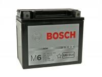 Battery -BOSCH YTX12-BS- 12V 10Ah -150x87x130mm - (maintenance-free) Vespa LX, LXV, S 125/150cc, GTS, GTS Super, GTV,GT L 125-300cc