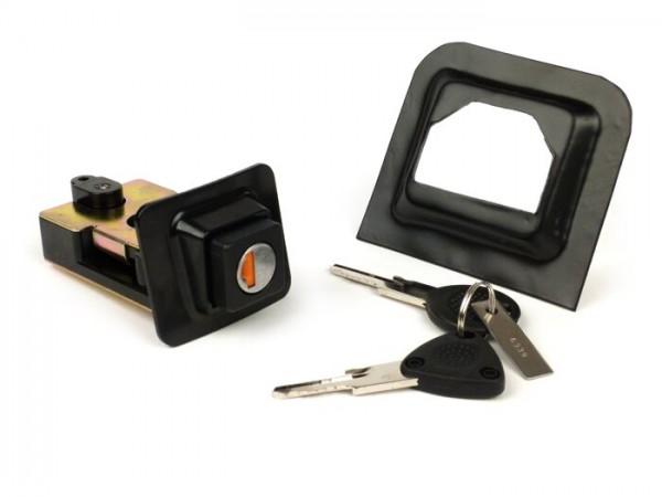 Seat lock -VESPA- T5 125cc - incl. seat lock frame