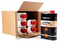 Aceite semi-sintético -BGM PRO Oldie Edition (Lata vintage)- 2 tiempos - 6x 1000ml - tamaño económico