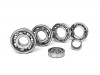 Ball bearing set for engine -SCOOTER CENTER- Vespa Smallframe V50, V90, SS50, SS90, PV125, ET3, PK S, PK XL - conversion to ETS crankshaft
