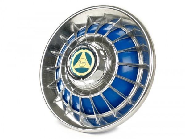 Wheel disc -FA ITALIA Old Style- 8 inch wheels - blue
