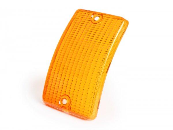 Blinkerglas -SIEM- Vespa PK50 XL/XL2, PK125 XL/XL2 vorne links - Orange