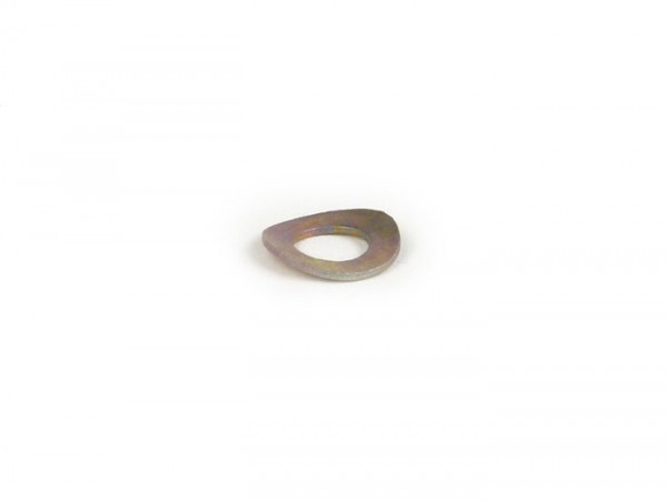 Spring washer, waved -DIN 137 steel, glavanised- M4 (used for screw oil pump Vespa PX EFL, 98, My, 2011, T5 125cc, Cosa)