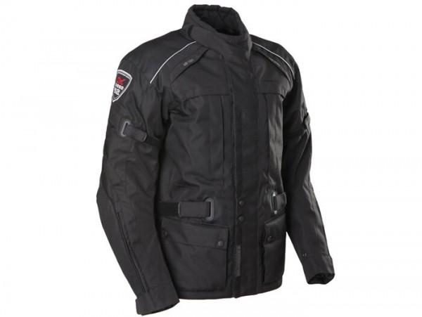 Blouson -SCEED 42 Downtown Race- textile, avec membrane, noir - L