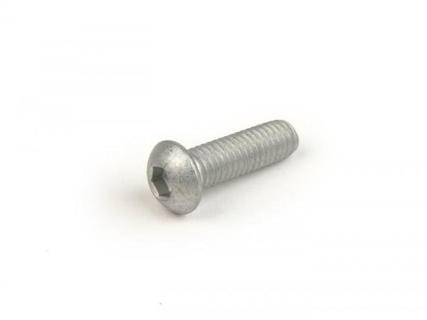 Schraube M6 x 18mm -ISO 7380- (used for gear selector fork Lambretta LI, LIS, SX, TV (series 2-3), DL, GP)