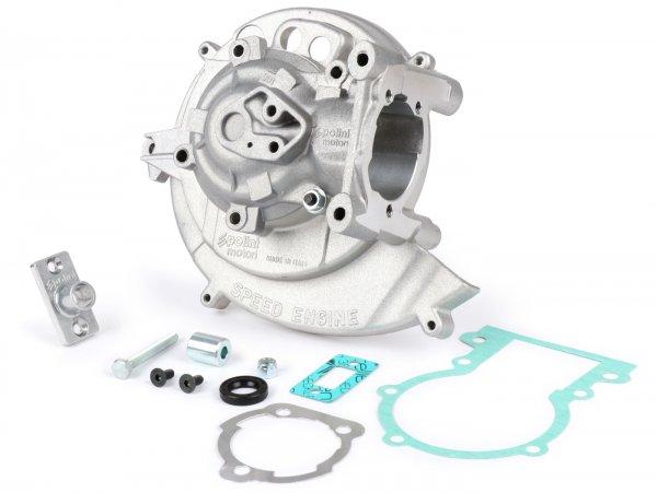 Motorgehäuse -POLINI- Speed Engine, elektronische Zündung - Piaggio Ciao, Boss, Boxer, SI, Grillo, Bravo, Superbravo, PX