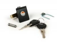 Top case lock -VESPA- PX EFL (1984-), T5 125cc - black