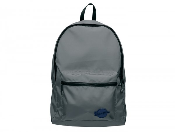 "Backpack -VESPA, ""Claxon""- grey"