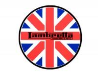 Sticker -LAMBRETTA Union Jack Lambretta Ø=75mm-