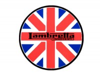 Aufkleber -LAMBRETTA Union Jack Lambretta Ø=75mm-