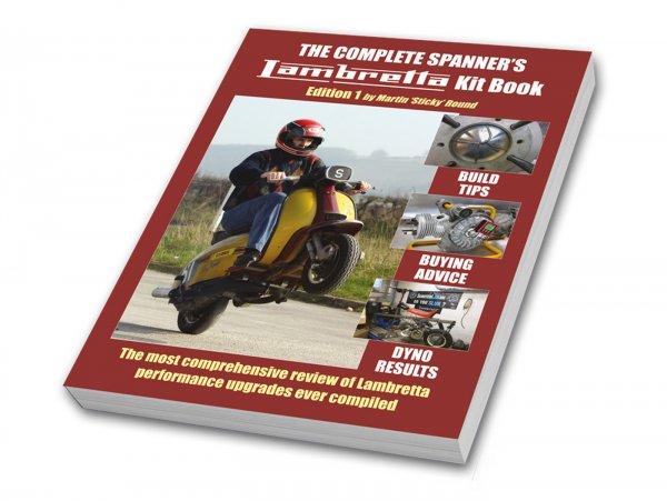 Libro -The Complete Spanner's – Lambretta Kit Book (Soft Back)- di Sticky