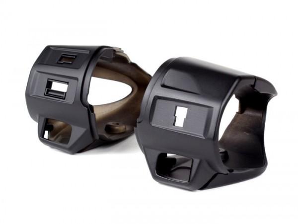 Lichtschalter- Blinkerschalter Gehäuse-Set -POWER 1- Vespa, Primavera50 (ZAPC53), Sprint50 (ZAPC53)