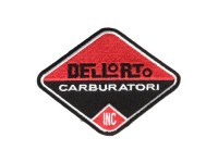Patch  -Dellorto carb- red/black - 65x85mm