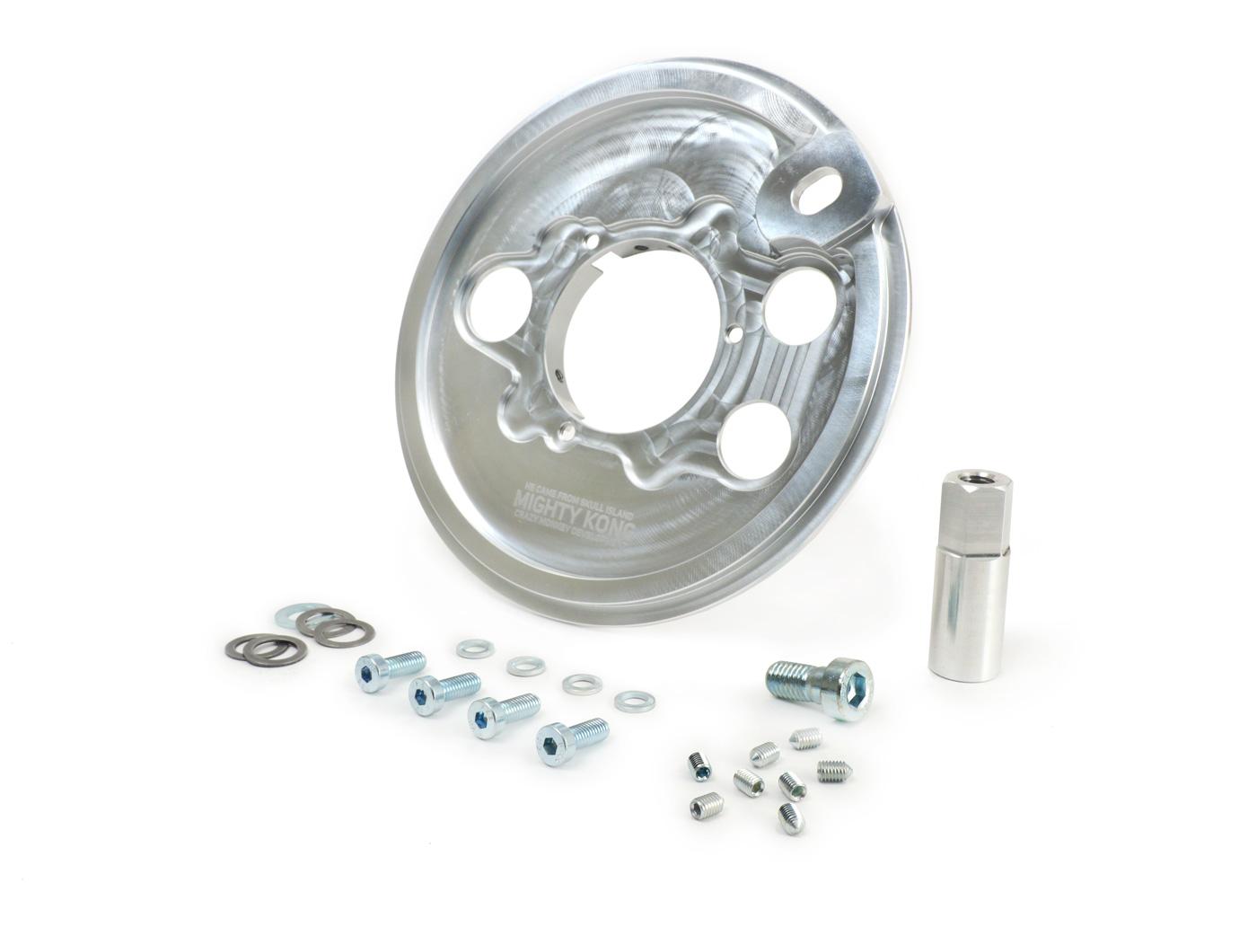 """VESPA 10/"""" Rear Wheel Brake Back Plate Largeframe"""