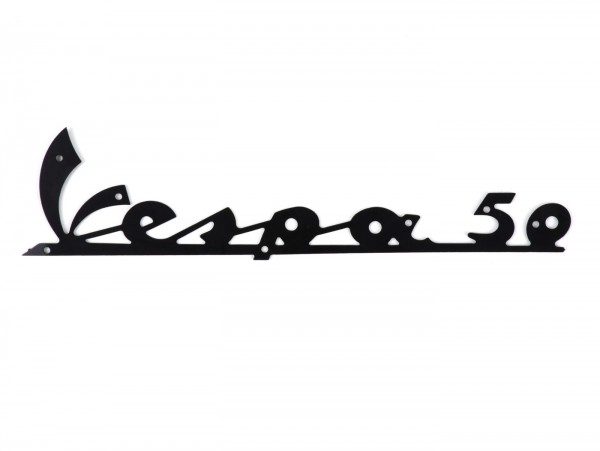 Schriftzug Beinschild -OEM QUALITÄT- Vespa 50 - universal