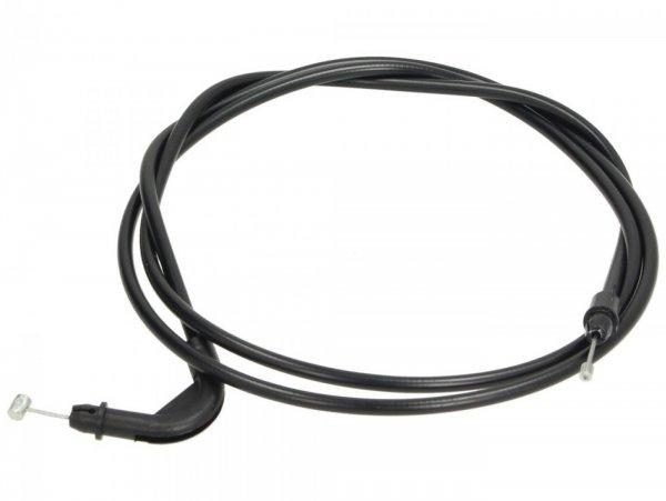 Cable (long) for seat lock -PIAGGIO- Vespa GT 250 (ZAPM45102), Vespa GT L 125 (ZAPM31100, ZAPM31101), Vespa GT L 200 (ZAPM31200), Vespa GTS 125 (ZAPM31300, ZAPMA3100, ZAPMA3200, ZAPMA3700), Vespa GTS 150 (ZAPMA3200, ZAPMA3100), Vespa GTS 250 (ZAPM451