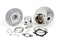 Cylindre -DR 133cc 6 transferts, aluminium- Vespa PV125, ET3 125, PK80-125