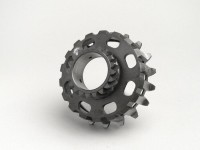 Clutch sprocket -PIAGGIO- Vespa Cosa2, PX (1995-) - (for 67/68 tooth primary gear, helical) - 20 tooth