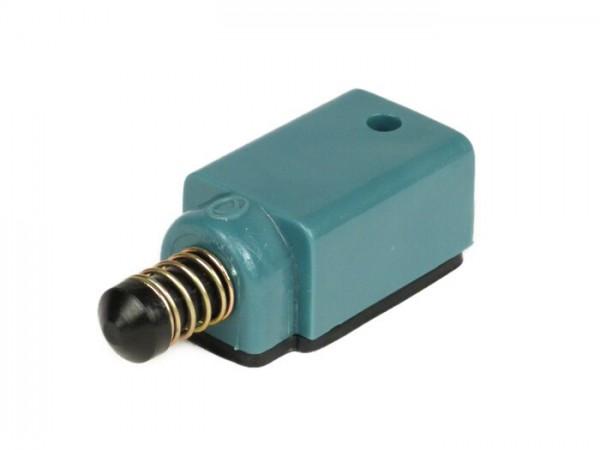 Bremslichtschalter -OEM QUALITÄT- Vespa PV125, ET3, PX80, PX125, PX150, PX200 (Modelle ohne Blinker) - Öffner (Blau/Schwarz)
