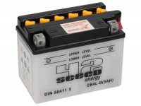Battery -Standard SCEED 42 Energy- CB4L-B - 12V, 5Ah - 93x71x121mm (with acid)