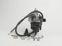 Vergaser -DELLORTO 20,5mm PHVB ED- vorbereitet für Elektrochoke - inkl. Kabelchokekit (HD=82, ND=50, MR=212 + 260FU, NA=M6 + W22, SL=40) - AW=28mm