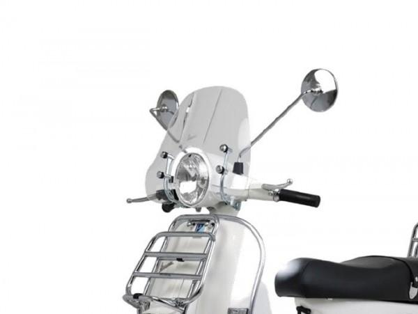 Cúpula grande -PIAGGIO Cruiser- Vespa PX - transparente